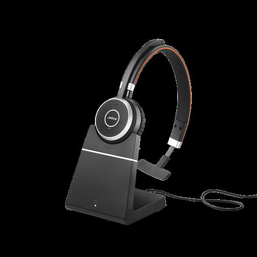 Jabra Evolve 65 Mono with Stand