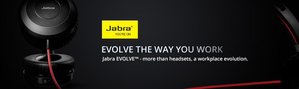 Jabra Evolve Wireless series hardset