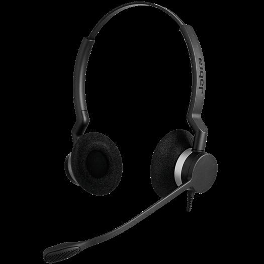 Jabra BIZ 2300 QD Duo Headset at Toronto Headset