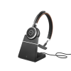 Jabra Evolve 65 UC Mono headset with Charging Stand
