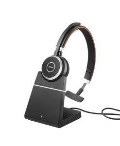 Jabra Evolve 65 Ms Mono Headset With Charging Stand