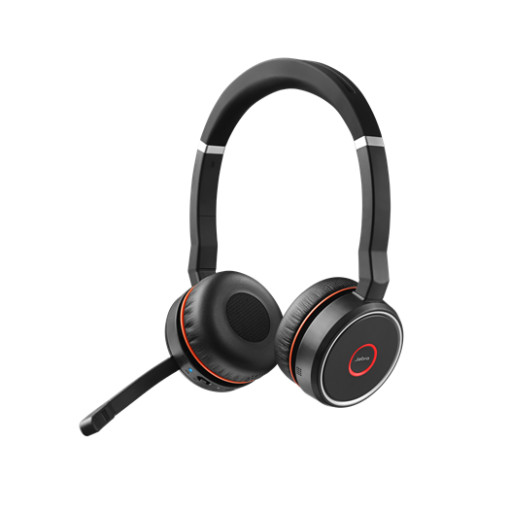 Jabra Evolve 75 UC Stereo Bluetooth Headset