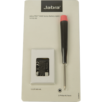 Replacement battery for Jabra PRO 9400.