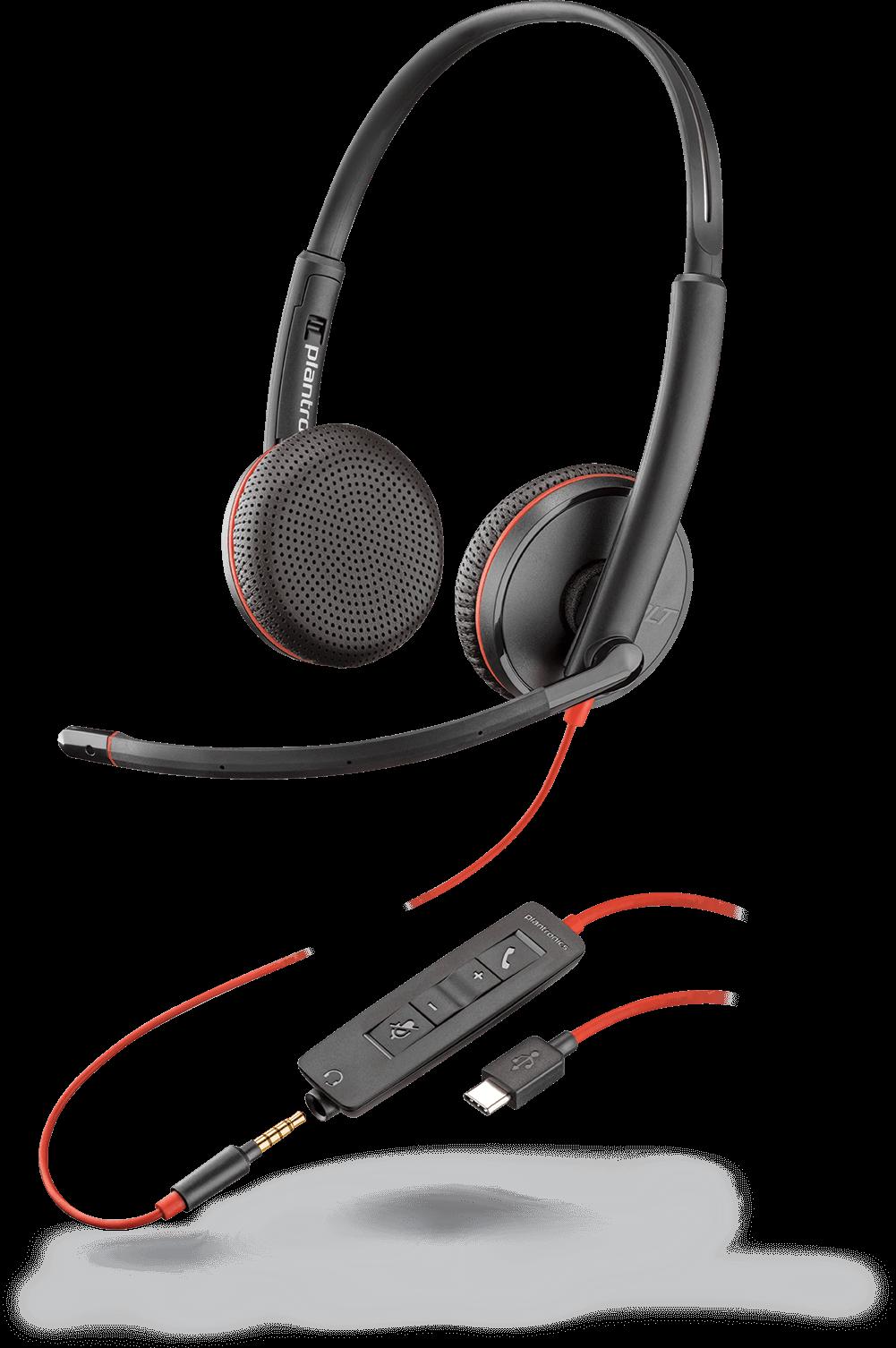 Plantronics Blackwire C3225 USB-C UC Headset