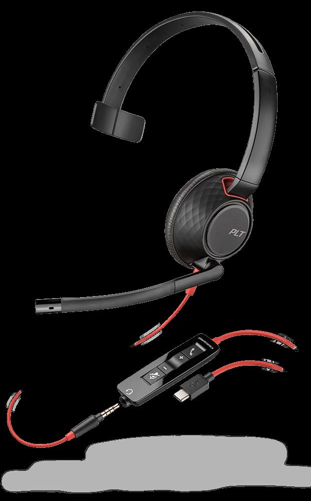 Plantronics Blackwire C5210 USB-C UC Headset 207587-01