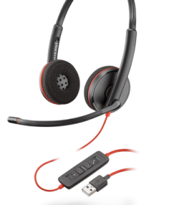 Plantronics Blackwire C3220 USB-A UC headset 209745-101