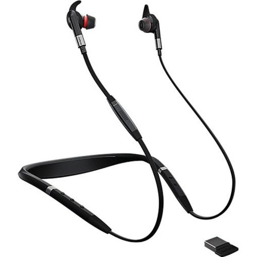 Jabra Evolve 75E MS Stereo Headset with Link 370
