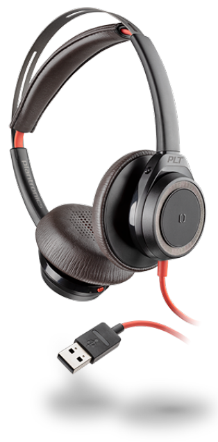 Plantonics Blackwire 7225 USB-A Black Headset