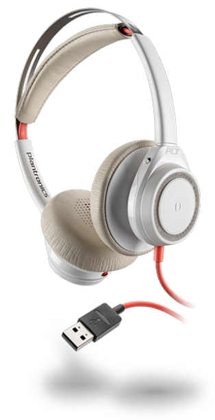 Plantonics Blackwire 7225 USB-A White Headset