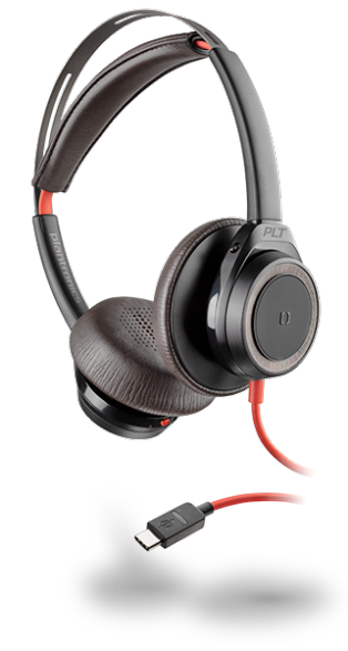 Plantonics Blackwire 7225 USB-C Black Headset