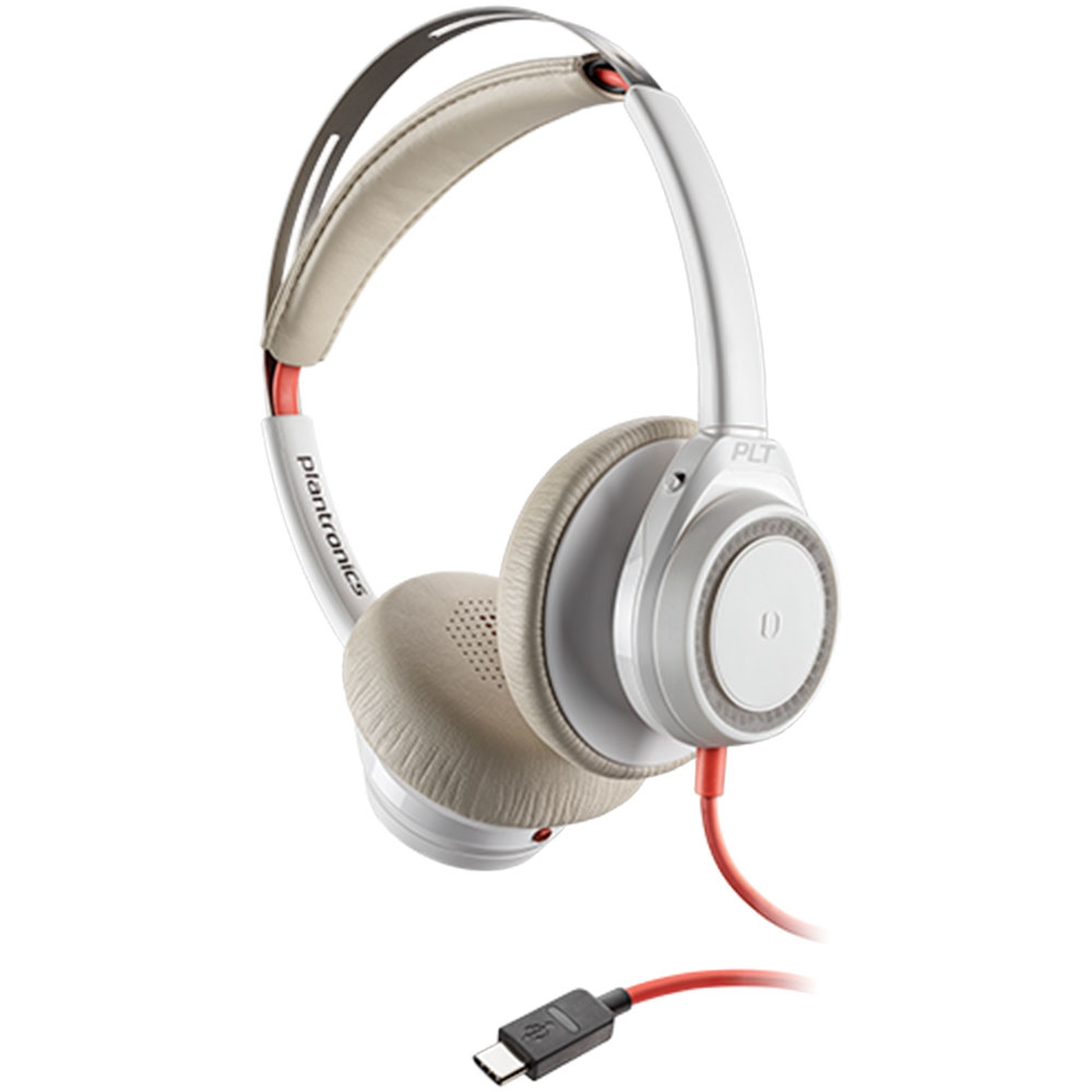 Plantronics Blackwire 7225 USB-C White Headset