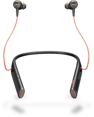 Plantronics Voyager 6200 UC Headset Black