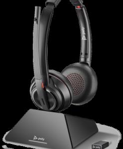 Plantonics Savi S8220-M UC Microsoft wireless Headset