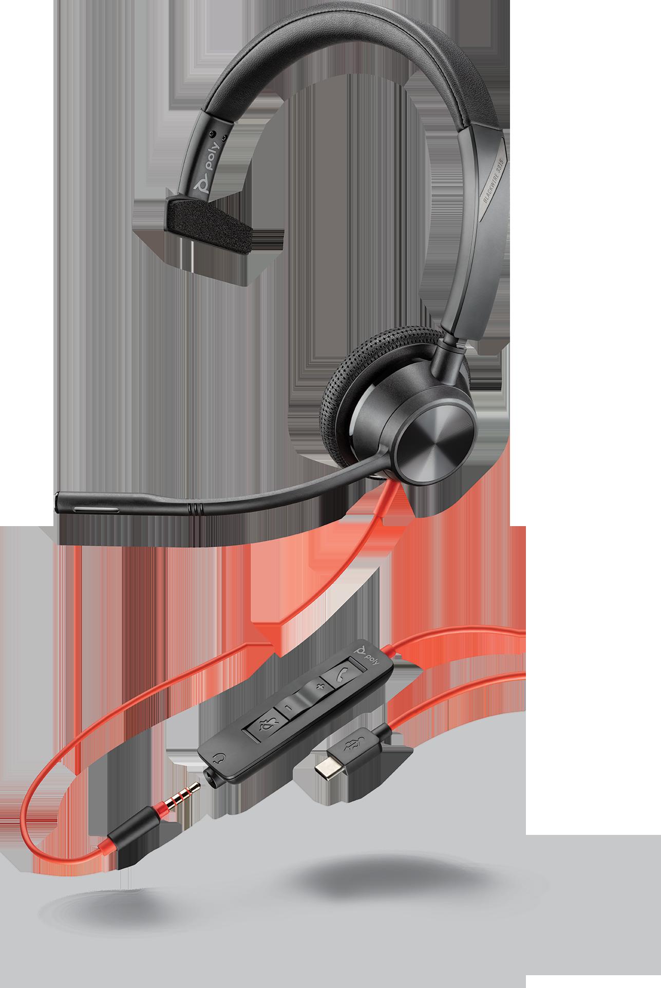 Plantronics Blackwire 3315 USB-C Headset