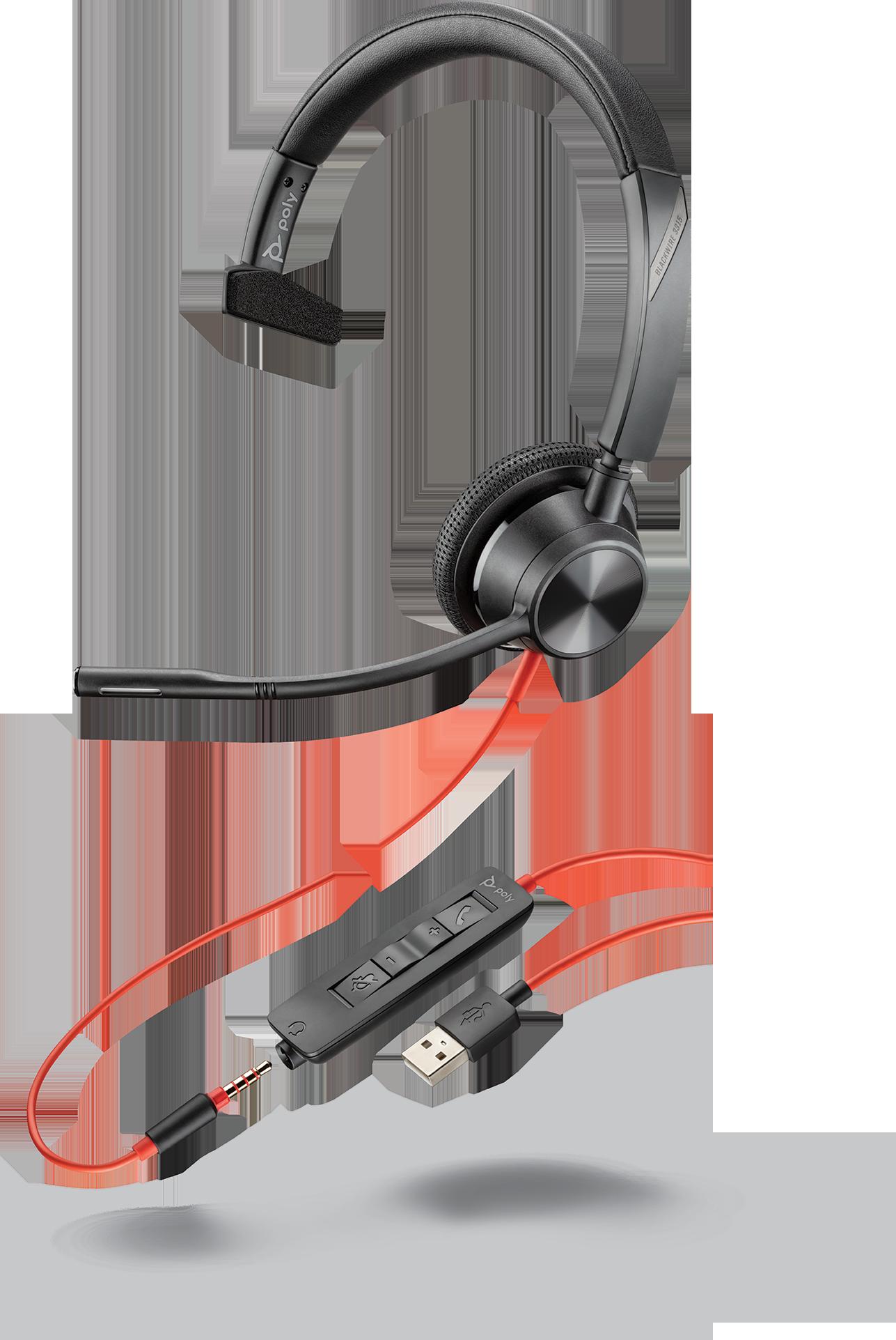 Plantronics Blackwire C3315 USB-A Headset