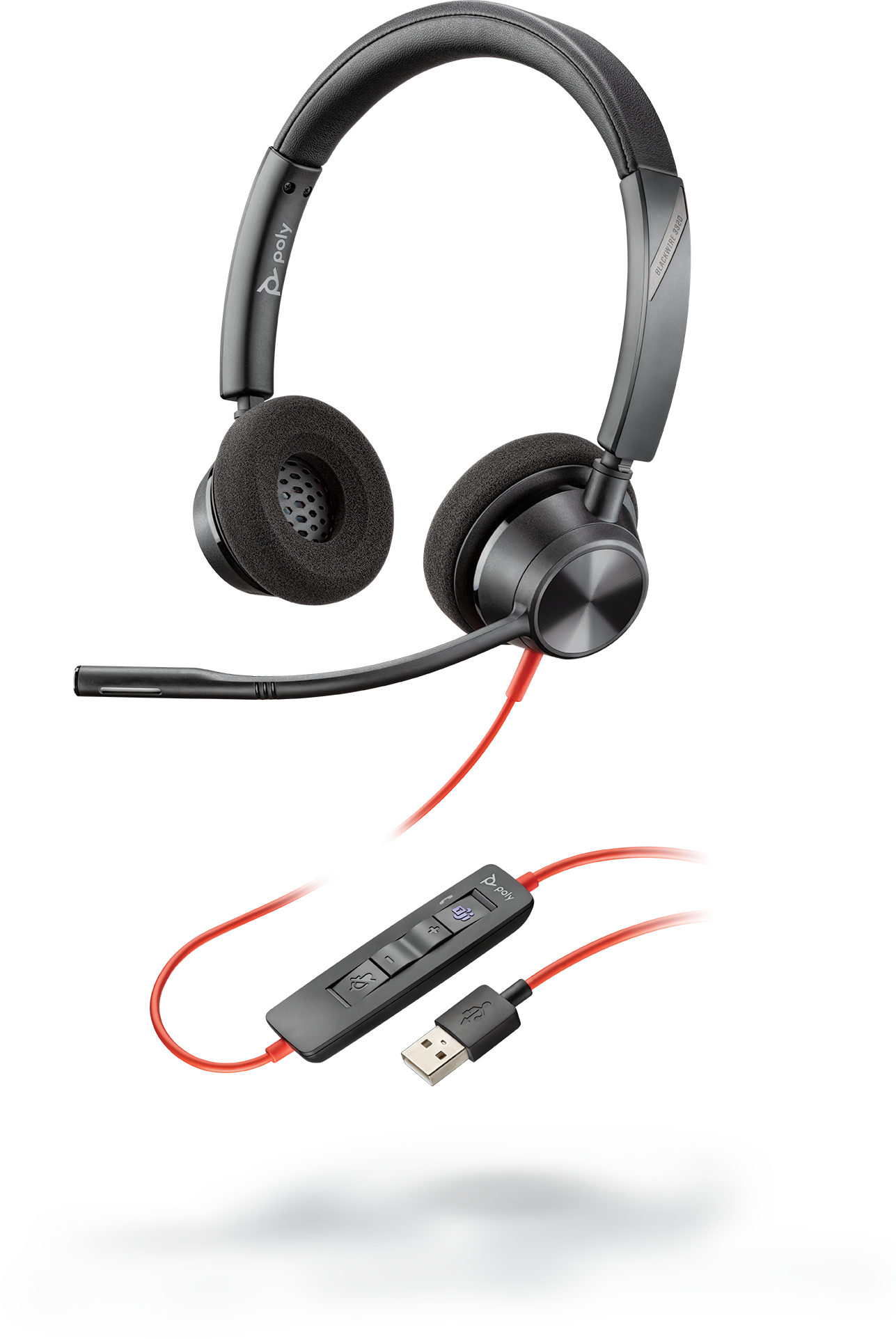 Plantronics Blackwire C3320 USB-A Headset